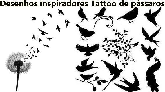 Resultado De Imagem Para Passarinho Desenho Para Tatuagem