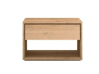 Solid Wood Bedside Table With Drawers Oak Nordic Bedside Table Ethnicraft Bedside Table Nordic Solid Wood Bedside Solid Wood Bedside Tables