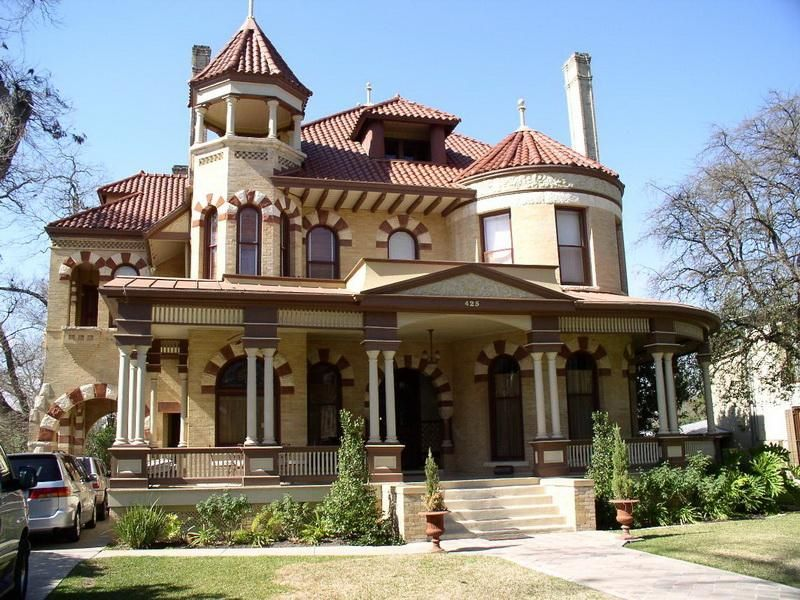 Architecture, Victorian Style Houses Design: Victorian House Plans ...
