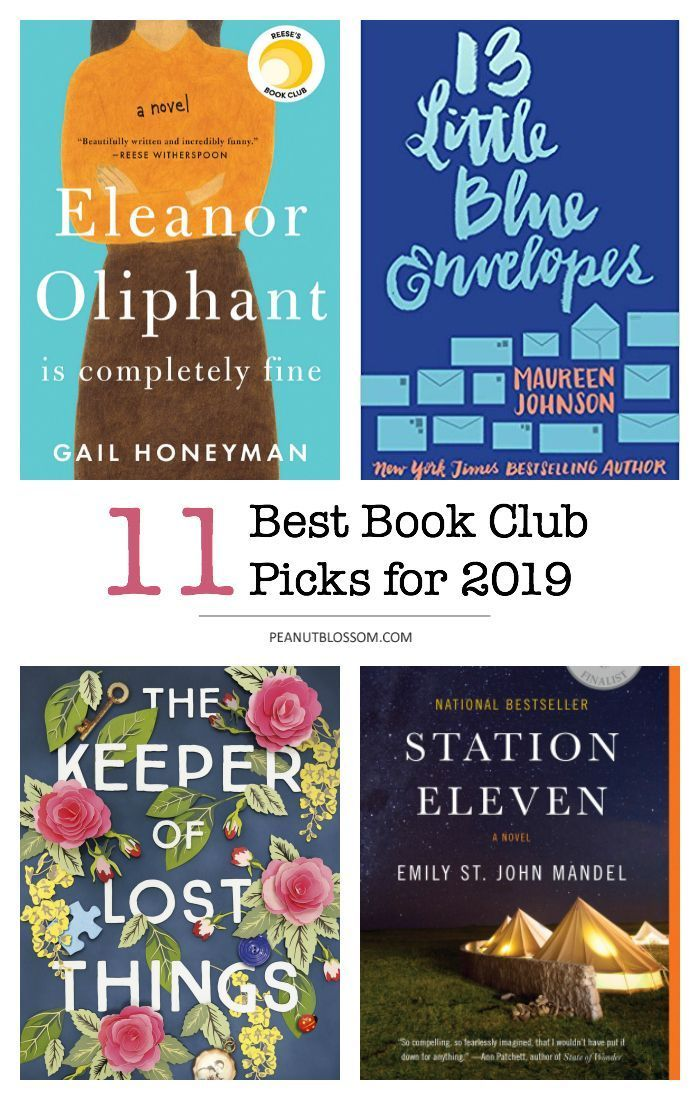 Reader's Choice The best book club picks for 2019 is part of Book club books, Best book club books, Online book club, Book club list, Book club reads, Books - Join the Peanut Blossom Book Club as we dig into the best book club picks for 2019! There's a little something for everyone  Grab a friend and enjoy these fun bestsellers