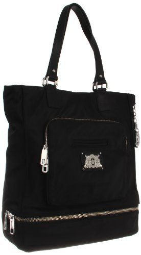 Juicy Couture Weekend Warriors Nylon YHRU3104 Tote,Black,One Size Juicy Couture, http://www.amazon.com/dp/B007BUA6XI/ref=cm_sw_r_pi_dp_ViMcrb10GDWZ0