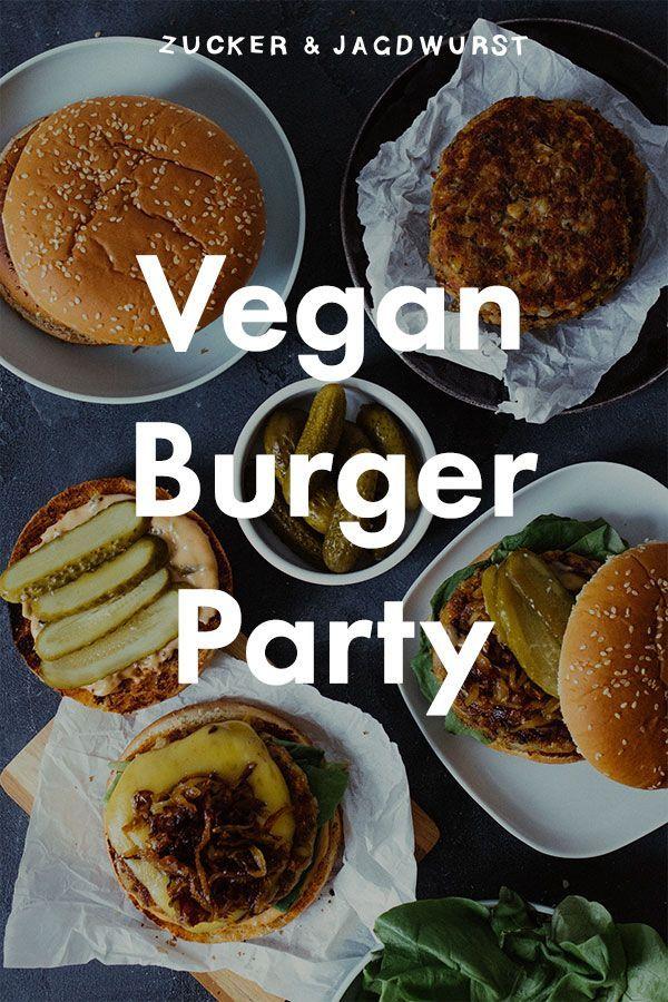 Vegan Burger With Veggie Patty