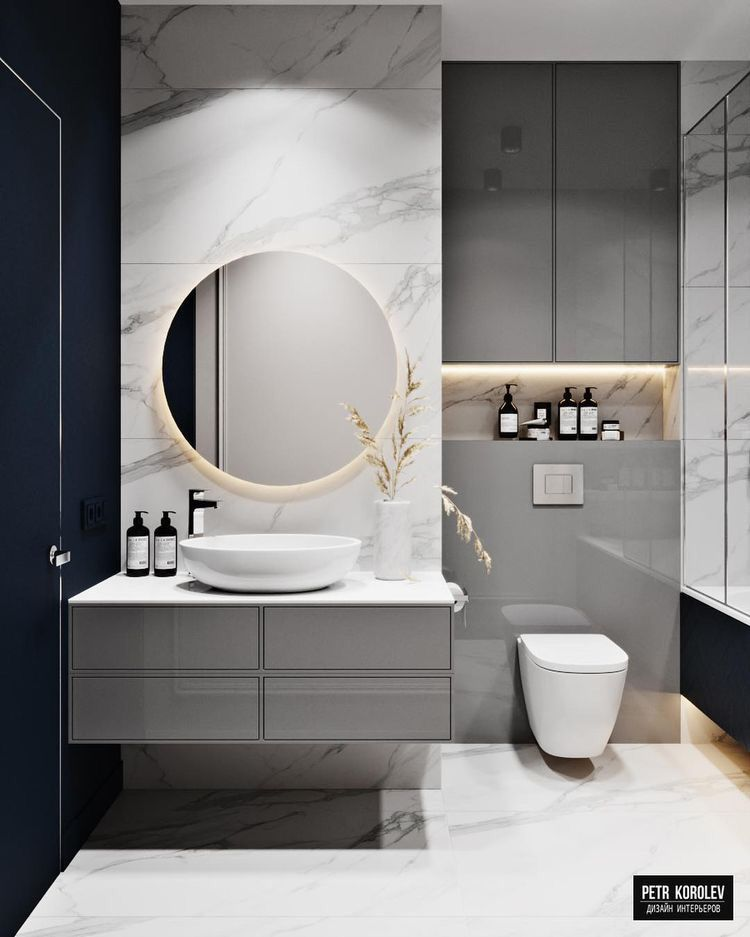 Mobilier Salon De Coiffure En 2020 Idee Salle De Bain Salle De Bain Design Amenagement Salle De Bain