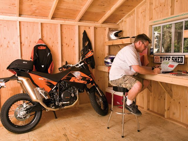 Man Cave Tuff Shed
