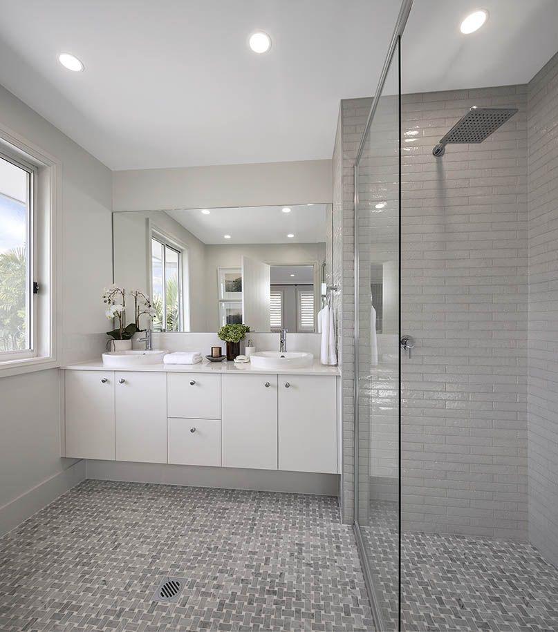 Bathroom brooklyn with breeze facade on display at