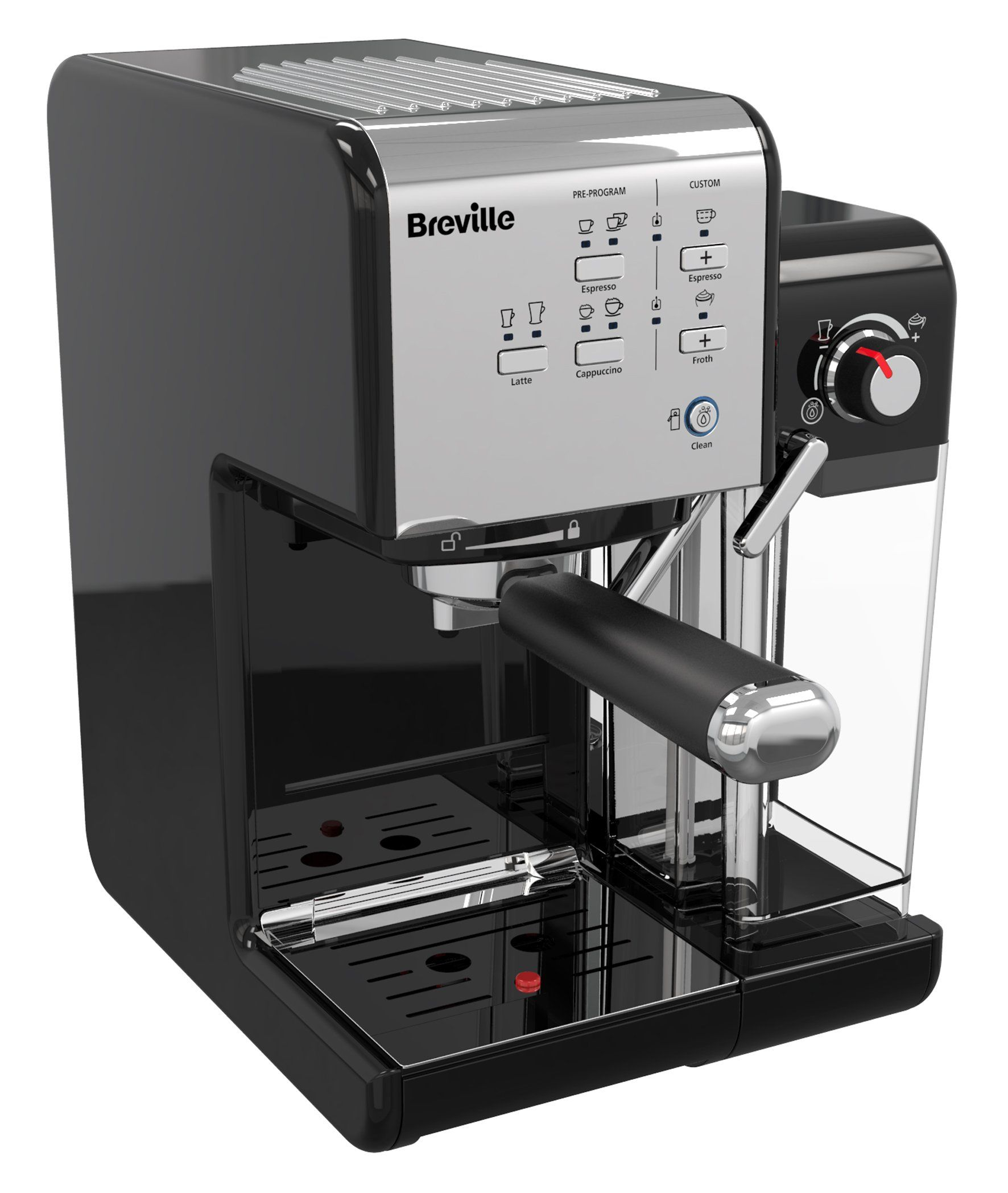 Breville One Touch Vcf107 Coffee Machine In 2020