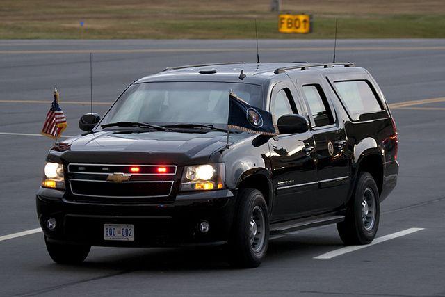 President Obama S Armored Chevrolet Suburban Chevy Vehicles