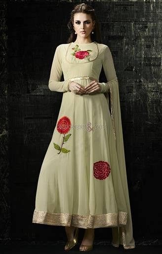 5bed914751 Party Wear Floral Anarkali Dresses Online Shopping Cash On Delivery  #Traditional #Anarkali #Designer #Women's Wear #Embroidered #Party #Party  Wear #Best ...