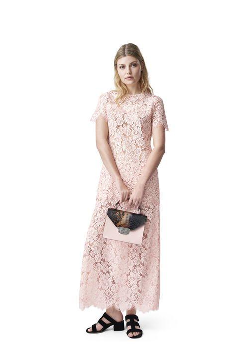 780c581f Duval Lace Maxi Dress, Cloud Pink | C L O T H I N G | Lace, Dress ...