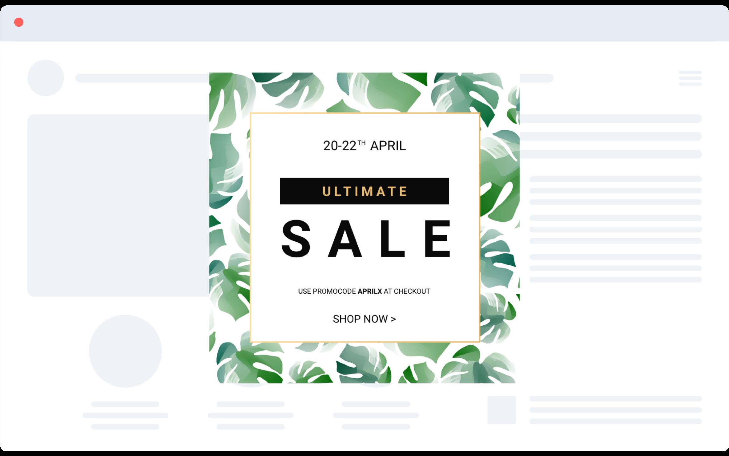 Ultimate Sales Coupon Code Popup Sales Conversion Increase Sales Sale
