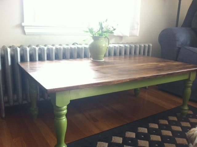 spray painted coffee table | furniture inspiration ...