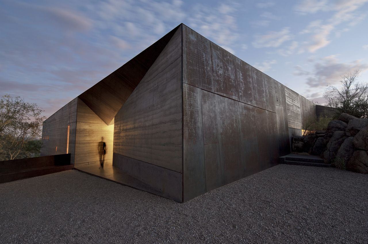 Wendell Burnette Architects - Project - Desert Courtyard House