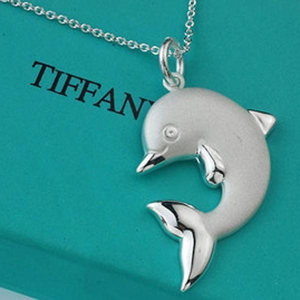 e55600475de46 tiffany & co. dolphin necklace <3 | i have an idea..let's make a ...