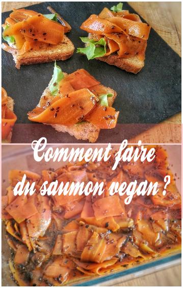Comment faire du saumon fumé vegan