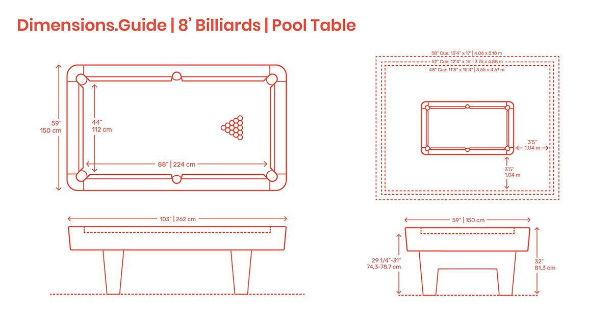 8 Billiards Pool Tables Are Tables Sized For Usage In Homes 8