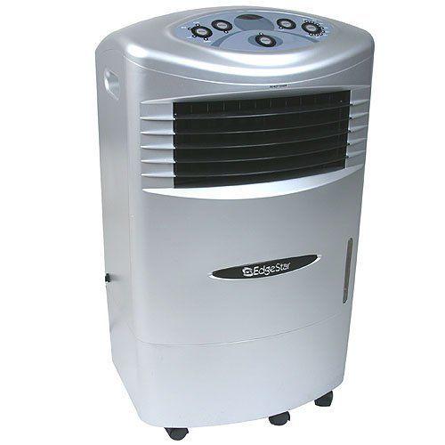 Edgestar High Velocity Evaporative Swamp Cooler Portable Air Cooler By Edgestar 140 00 Cools Portable Air Conditioner Portable Air Cooler Portable Cooler