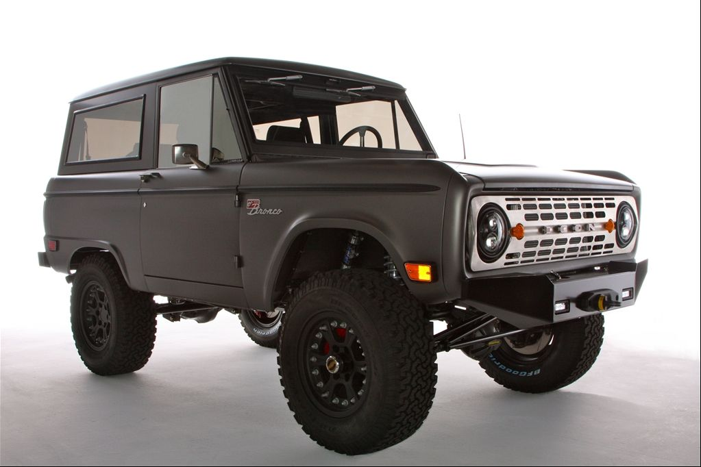 icon '68 Bronco redux. rad Ford bronco, Bronco