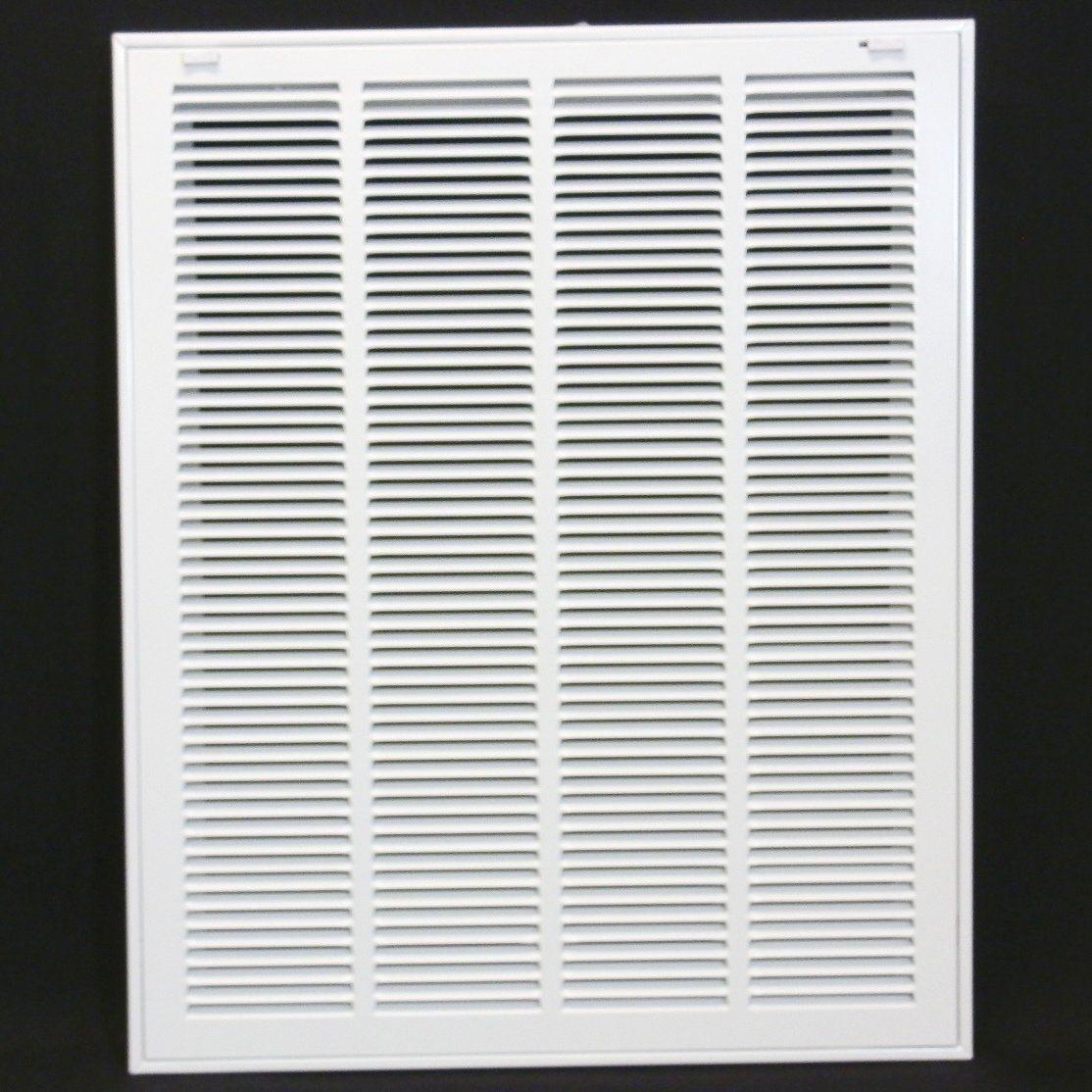 "20"" X 25 Steel Return Air Filter Grille for 1"" Filter"