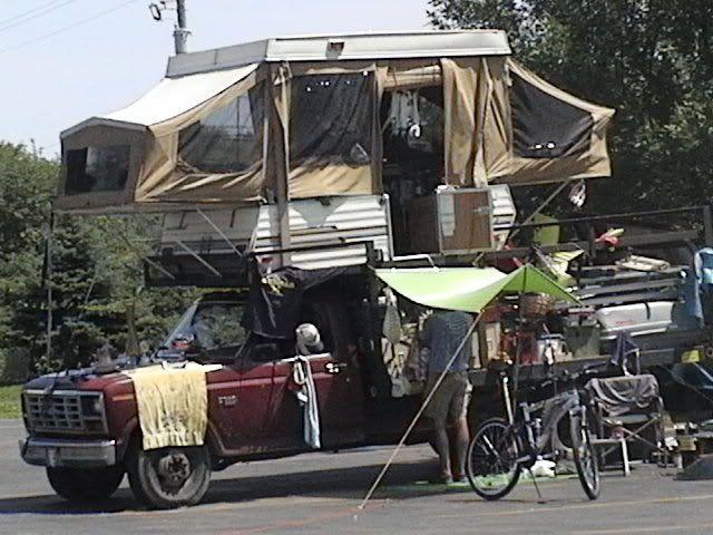 Redneck Trailer Camper It S A Double Decker Redneck