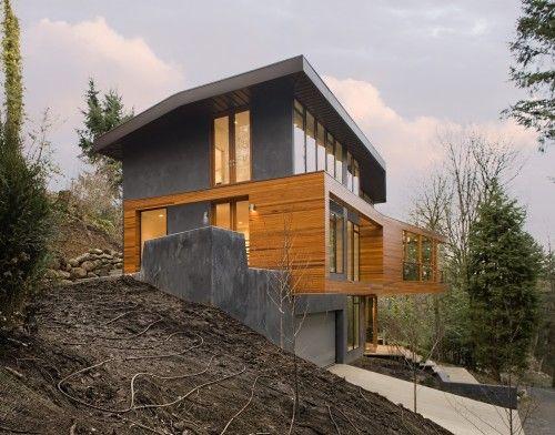See What Happens When You Lift A Living Space Off The Ground Casa De Arquitectura Casas Casa Crepúsculo