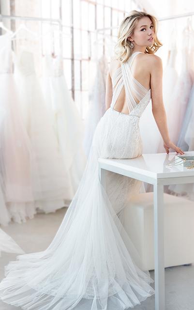 Blush By Hayley Paige Wedding Dresses Houston Tx The Woodlands Tx Brickhouse Bridal Weddin In 2020 Ruffle Wedding Dress Wedding Dress Backs Wedding Dresses Houston