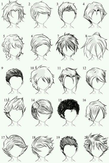 I Find This Hair Very Easy To Draw Manga Hair How To Draw Hair Sketches