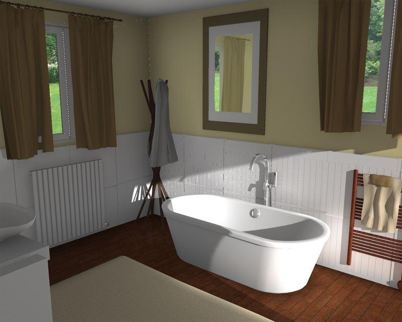 Bathroom Rendering  Decorating & Design Ideas  Homebyme Glamorous Free 3D Bathroom Design Software Design Decoration
