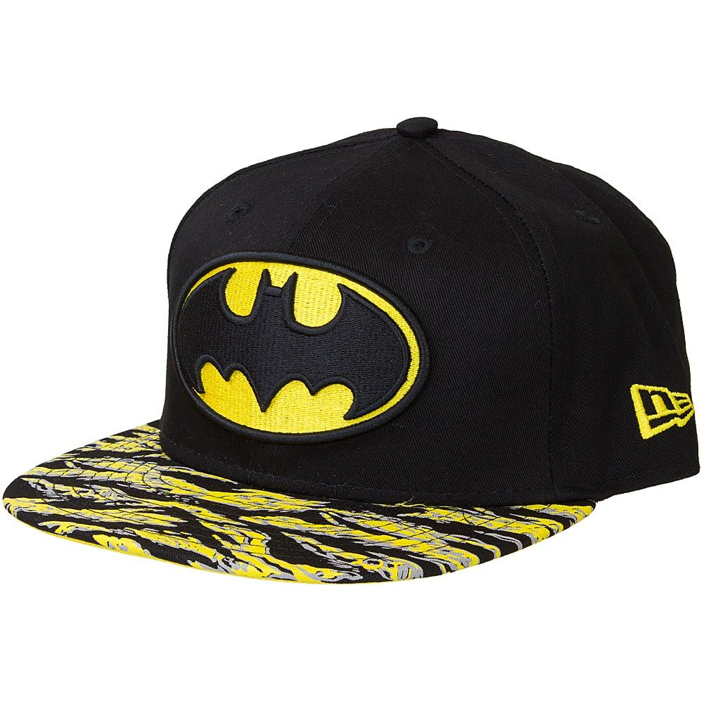New Era 9FIFTY Snapback Cap Hero Tigercamo Batman black yellow ... f370485965a