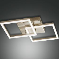 Photo of Lampada da soffitto Fabas Led Bard in oro, 45x45cm Bard 3394-22-225Wohnlicht.com