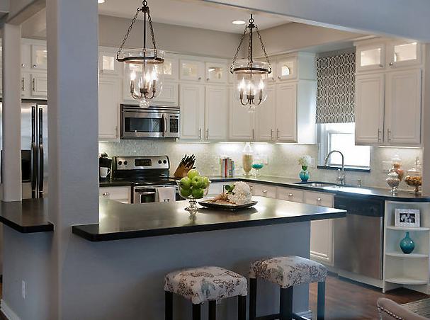 White Kitchen Grey Walls gray and white kitchen - creditrestore