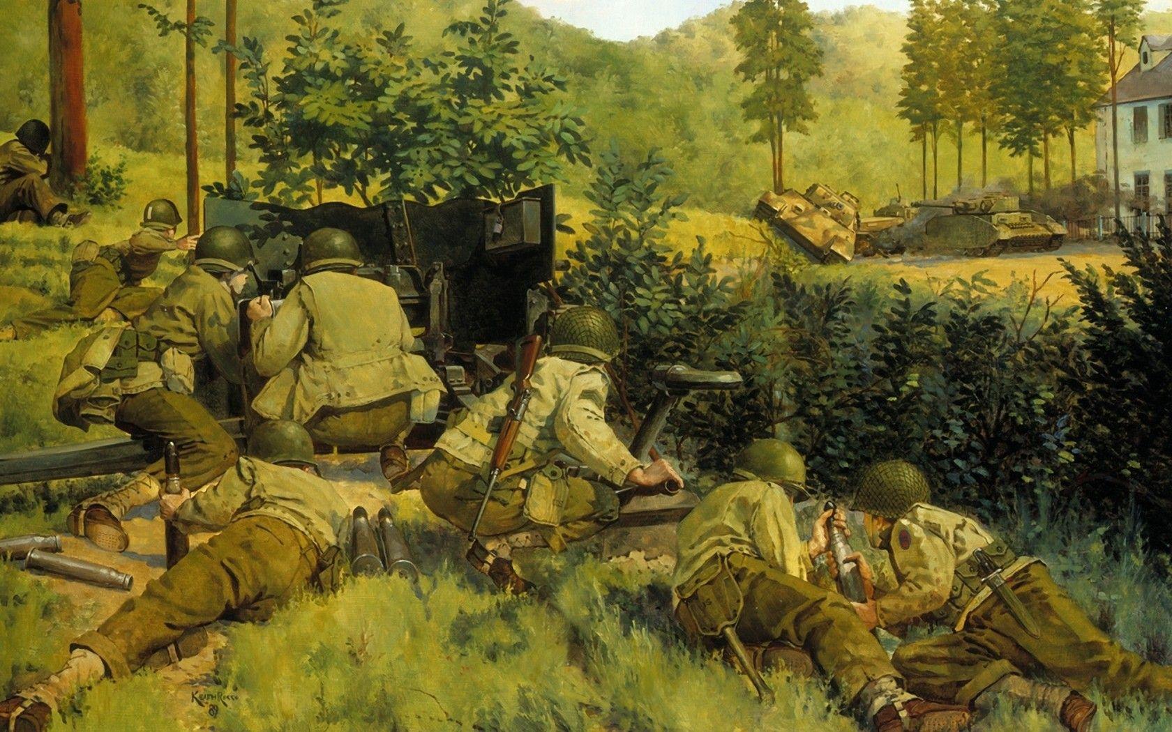 представлении военная живопись картинки фотография стене всегда