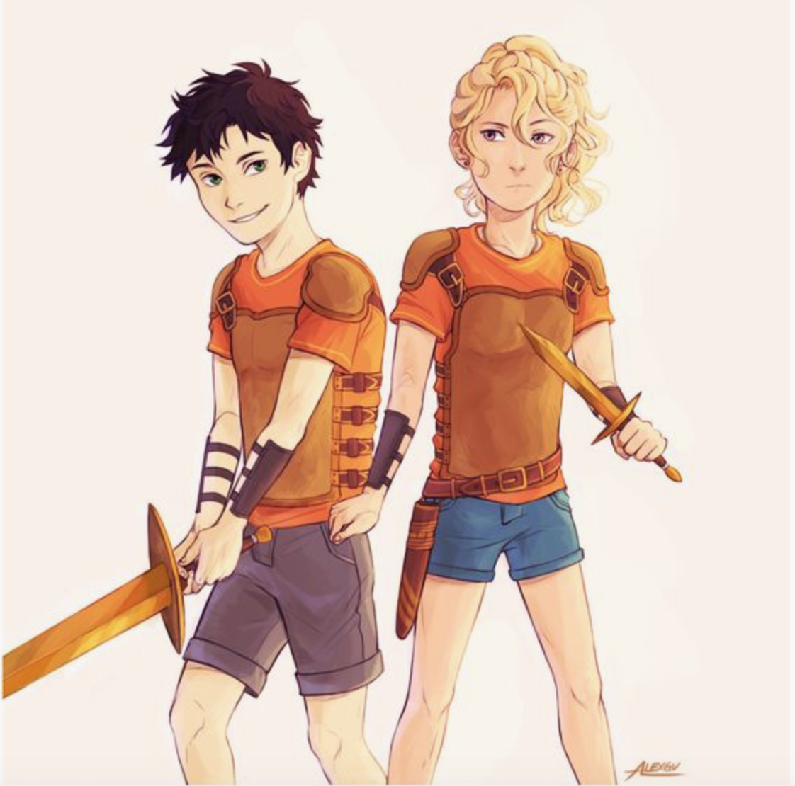 young percy jackson and annabeth percy jackson