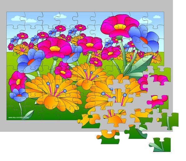Free- screenshot thumbnail Flower Puzzle Game!