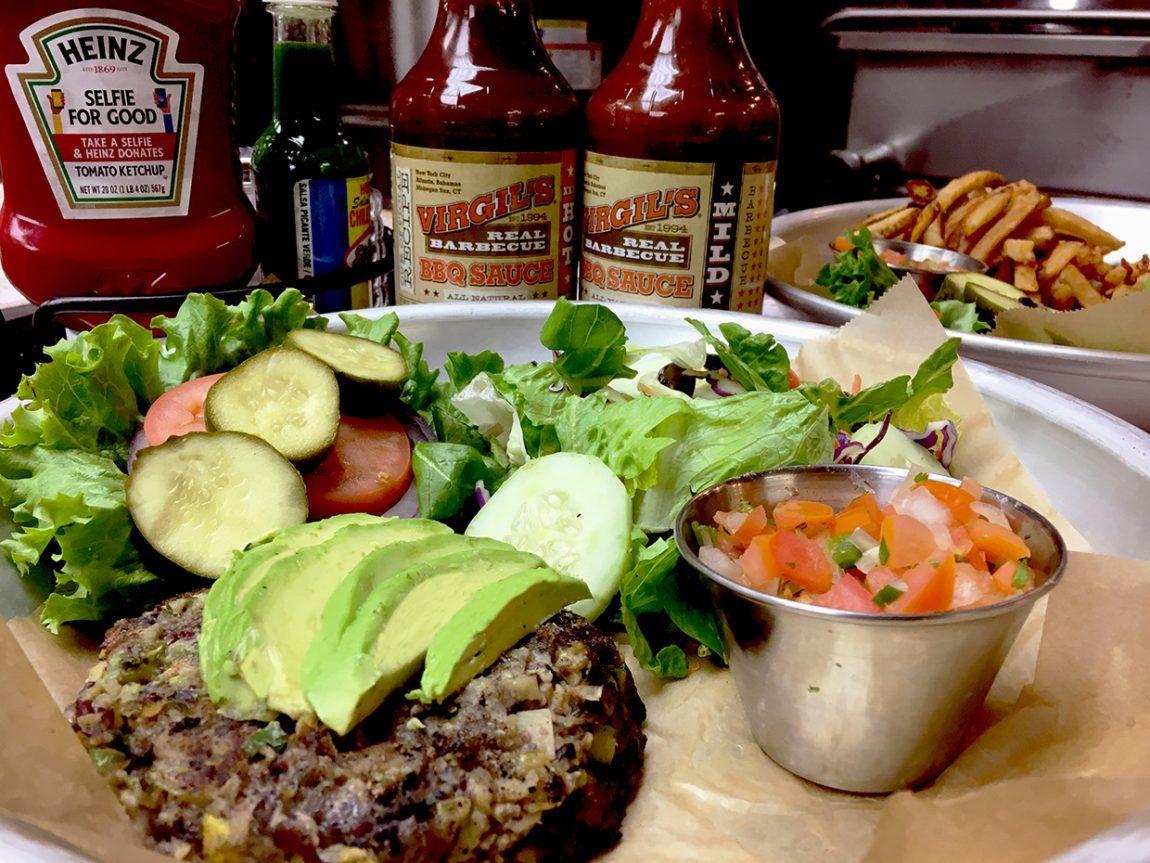 Las Vegas Vegan Burger At Virgil S Real Barbecue