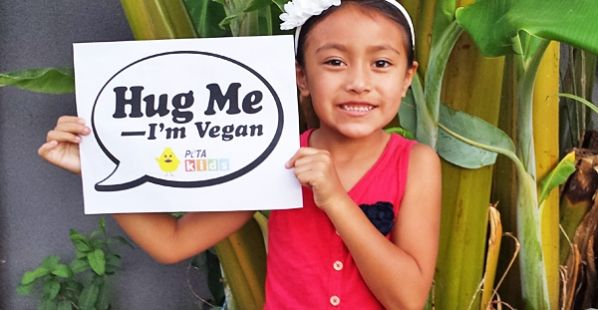PETA has a website for kids. (There's a parent section, too.)