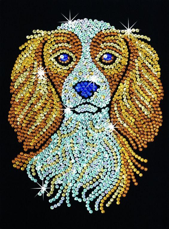 Image detail for -Sequin Art Spaniel - Sequin Art Sequin Art Craft Kits Sequin Art ...