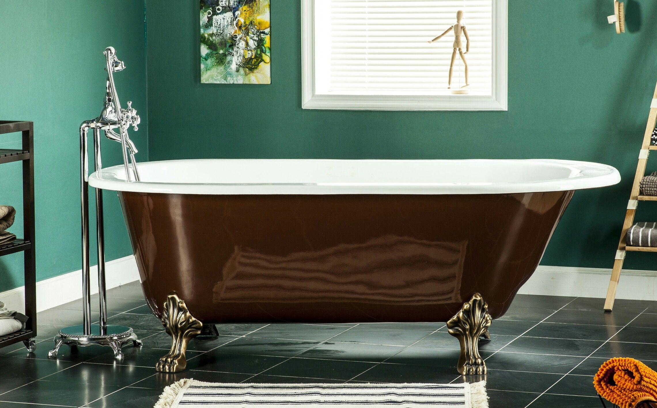 Pin by southseabath on cast iron clawfoot bathtub pinterest
