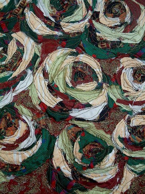 Anita quansah london textile swatch created from vintage for Zimmerdeko london