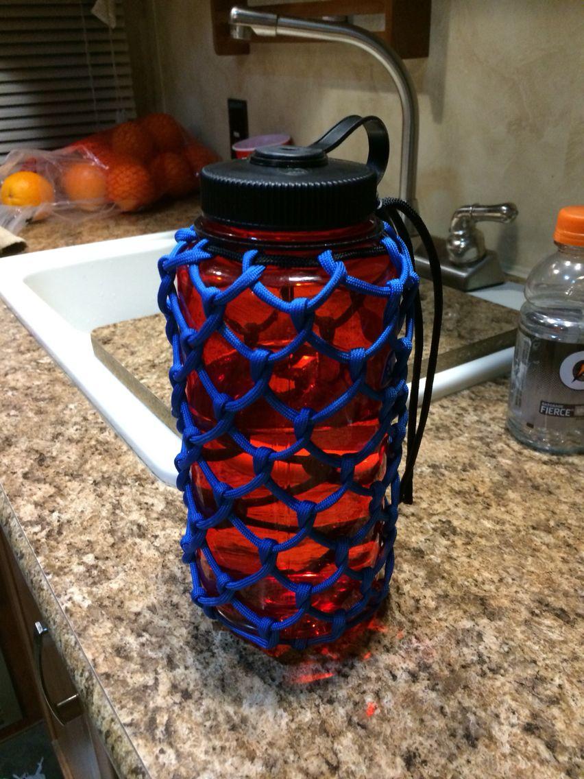 Paracord bottle wrap for 32 oz nalgene.  7dee1f24027fd