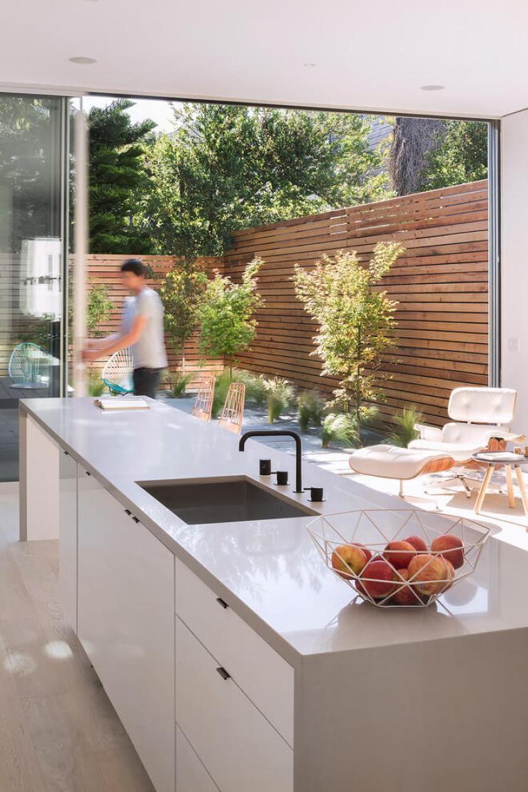 Decora O Moderna Em S O Francisco Cozinha Cinza Charles Eames E