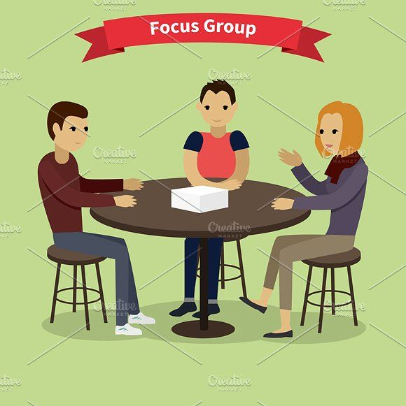 Focus Group Concept Focus Group Concept Business Infographic