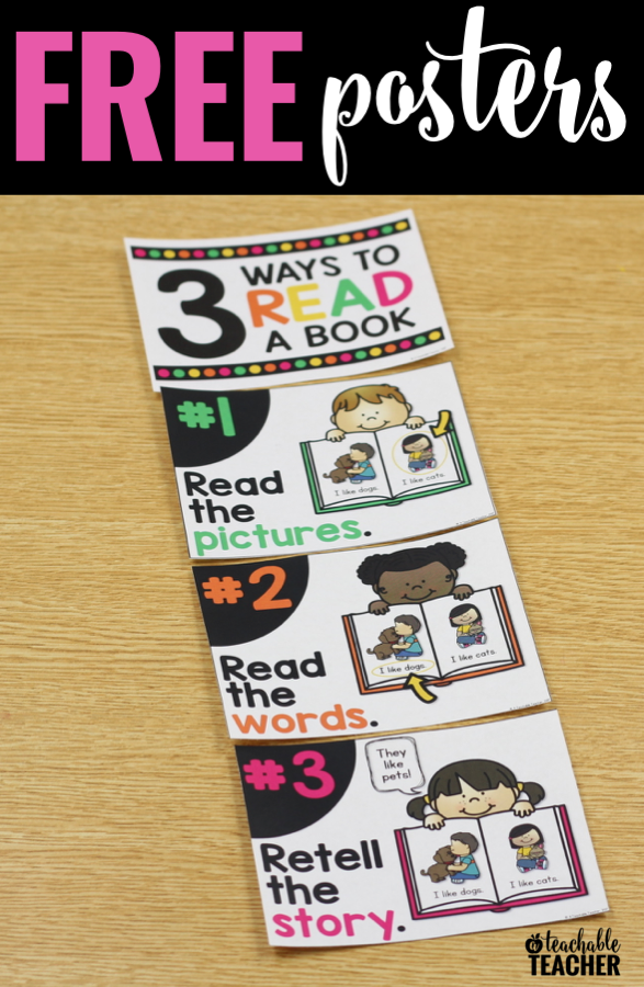 FREE Three Ways to Read a Book Posters