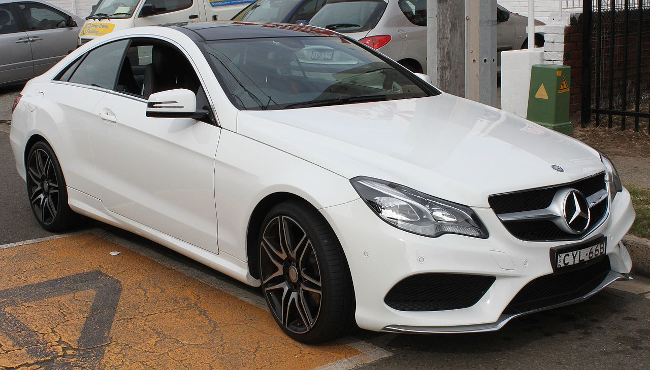 Fourth Generation 2014 Mercedes Benz E 200 C 207 Coupe