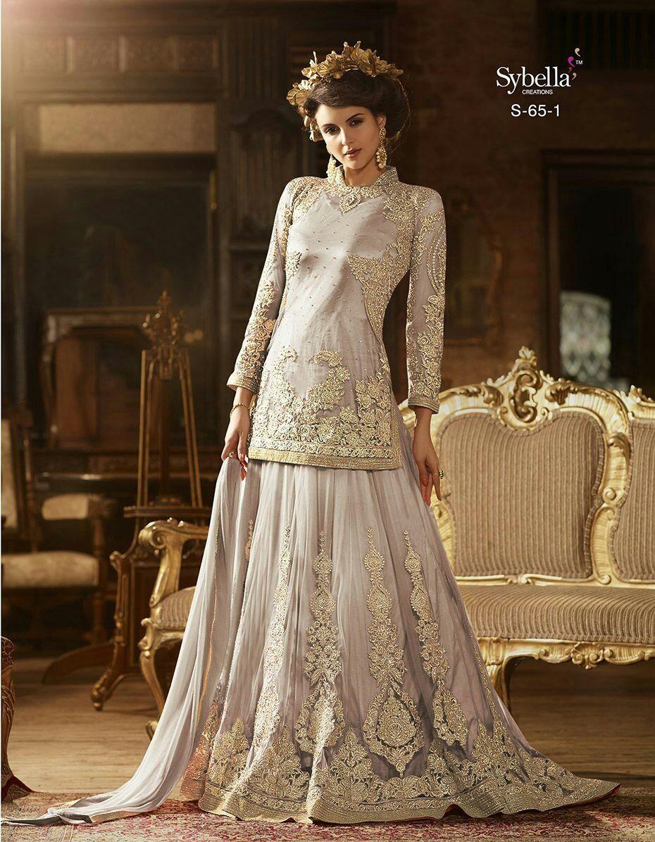 Sari wedding dress  Pin by SENHORA DRESSESفساتين سنهورا on SENHORA DRESSES Dresses
