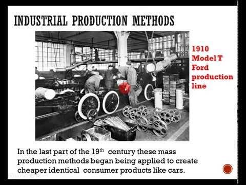 Gcse Engineering Revision 002 Methods Of Production Youtube Henry Ford Henry Ford Model T Ford