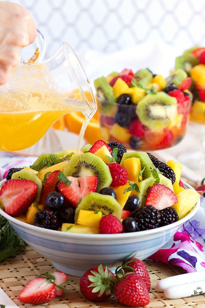 Easy fruit recipes for breakfast