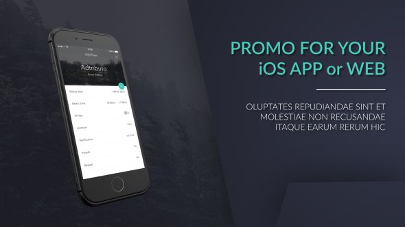 iphone web / app promo | ui ux, Powerpoint templates