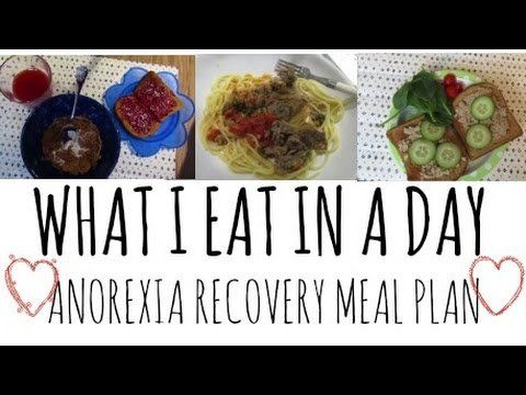 anorexia recovery what i eat