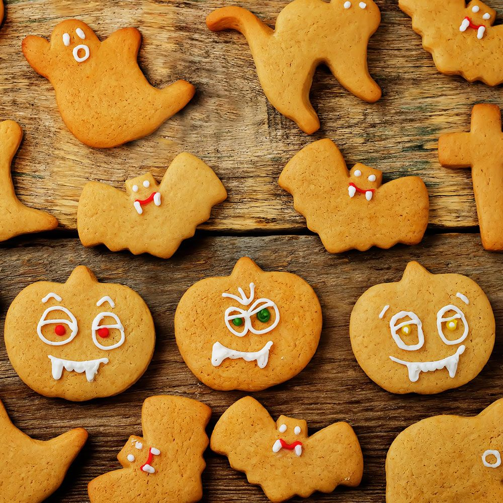 Ricetta Biscotti di Halloween vegani Vegamo Biscotti