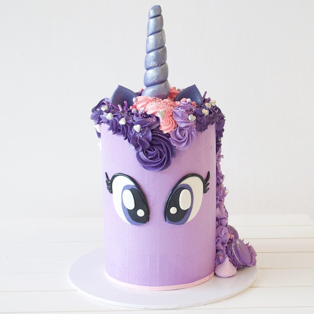 Twilight Sparkle Unicorn Cake